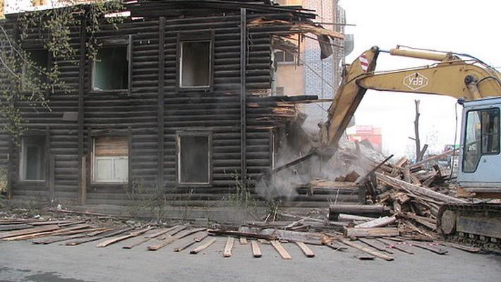 снос домов в твери