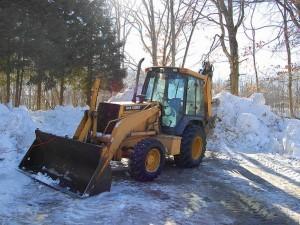 уборка снега тверь