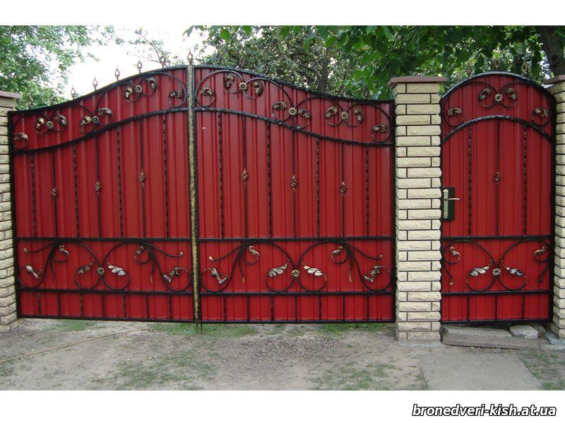 Как сделать забор и ворота из профлиста видео уроки - Svbur.ru