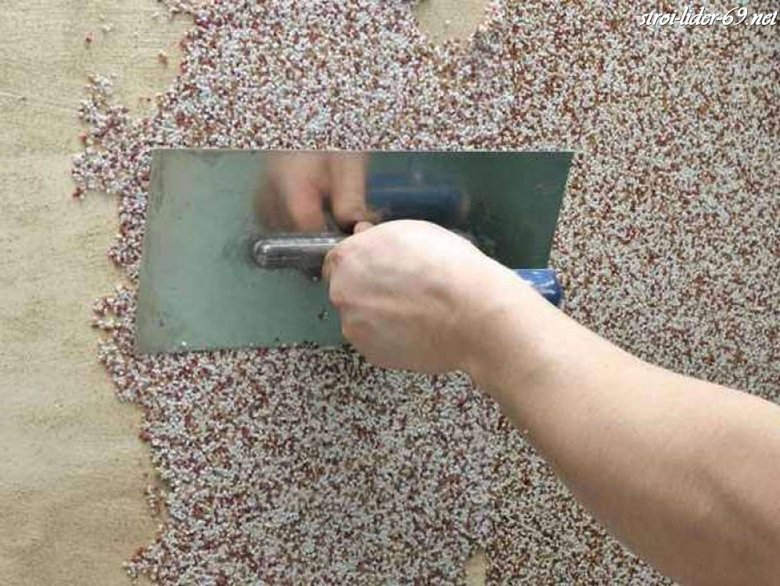 Как сделать штукатурку из мраморной крошки своими руками